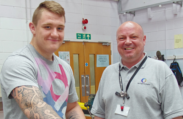Jack tackles England colleges' rugby squad