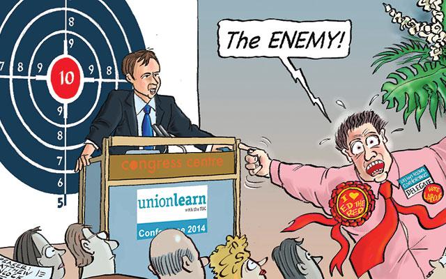 'Enemy' minister Hancock hands union £15m