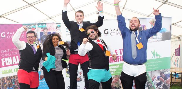 Winning 'pantrapeneurs' raise more than £4,000