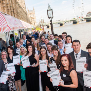 High-achieving Midland apprentices honoured with House of Lords celebration