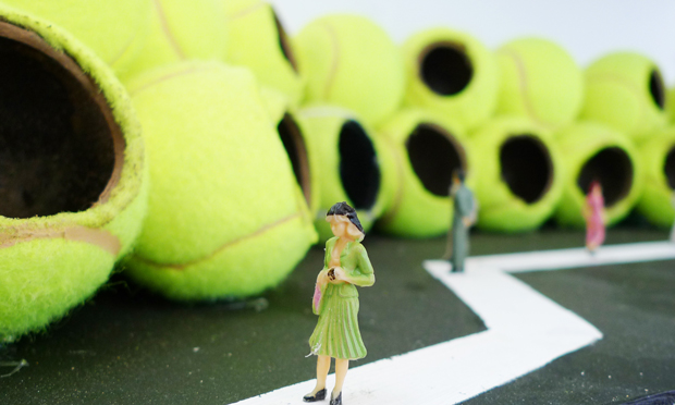 On the ball for end-of-year exhibition