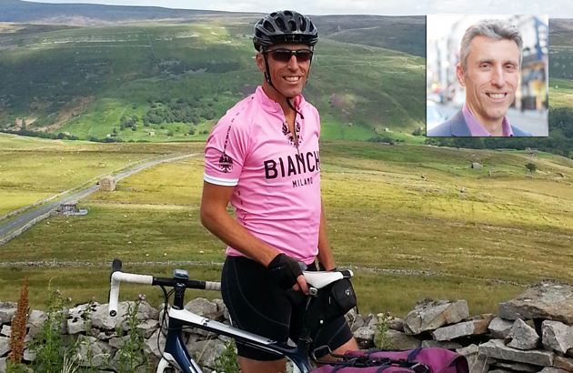 Niace chief in gruelling father-and-son charity cycle from Land's End to John O'Groats — and a bit