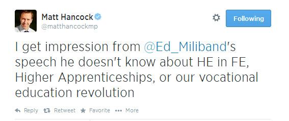 Matthew-hancock-ed-tweet