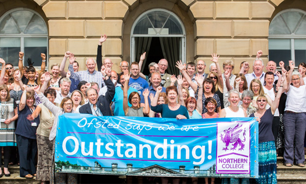 College in outstanding 'no improvement needed' first from Ofsted