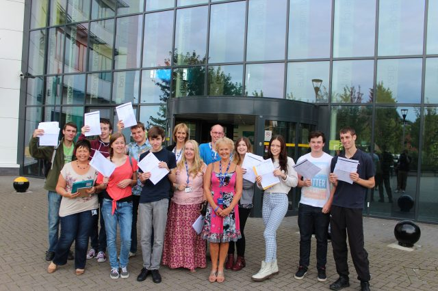 Bracknell and Wokingham College's A-levels class of 2014