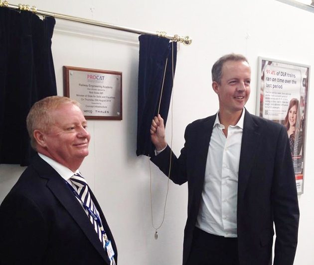 Skills Minister speaks at ceremony launching first new FE college for over 20 years