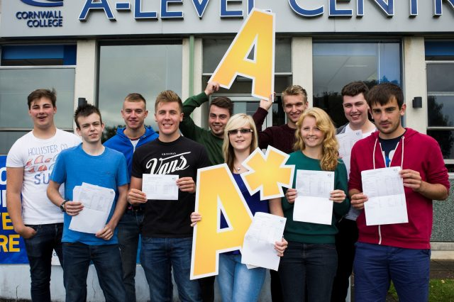 Cornwall College learners celebrate A-level success