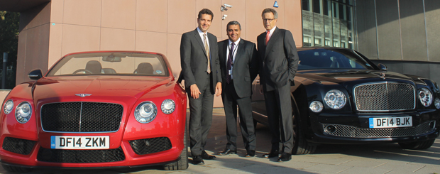 Bentley gears up for car launch with new training base