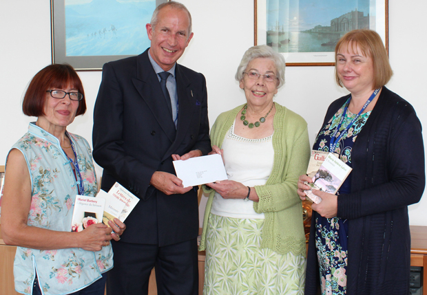 Pensioner recognised for 25 years of constant study at college