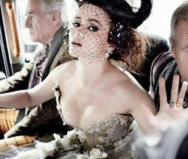Film star wears Rosie's dress for photoshoot