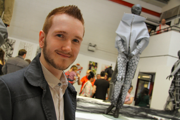 Designer with dyslexia cut out for college