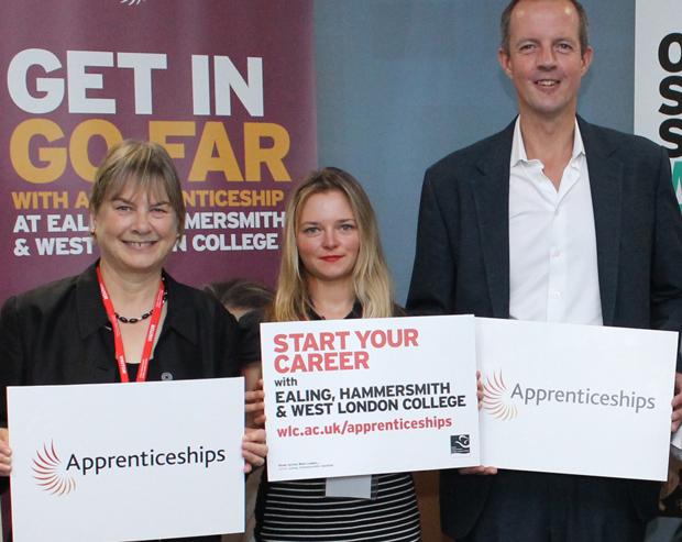 Skills Minister sings praises of apprenticeships