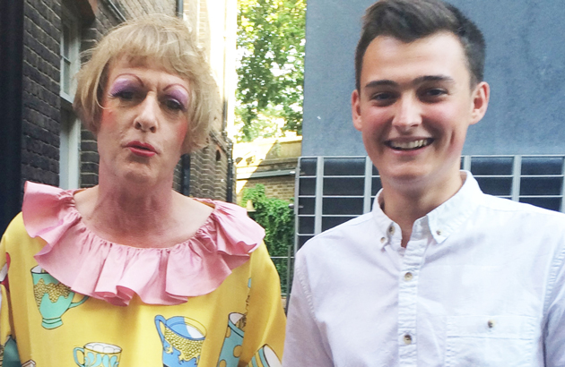 Top artist Grayson Perry awards talented students