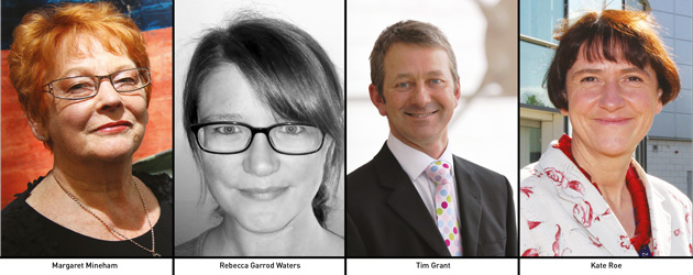 Edition 109: Margaret Mineham, Rebecca Garrod Waters, Tim Grant and Kate Roe