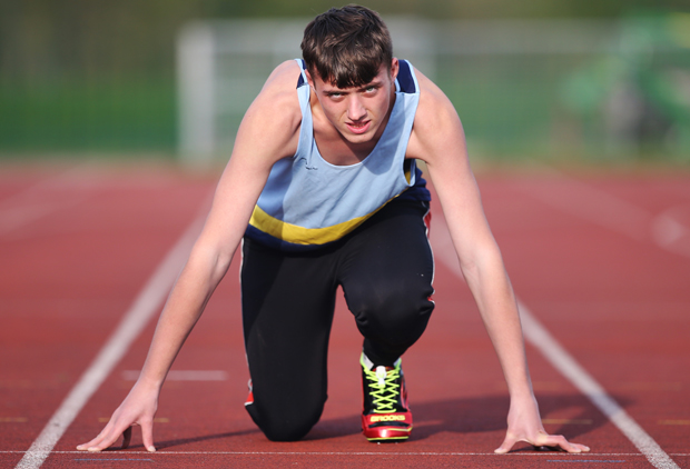 Paralympic hopes for golden boy Reece