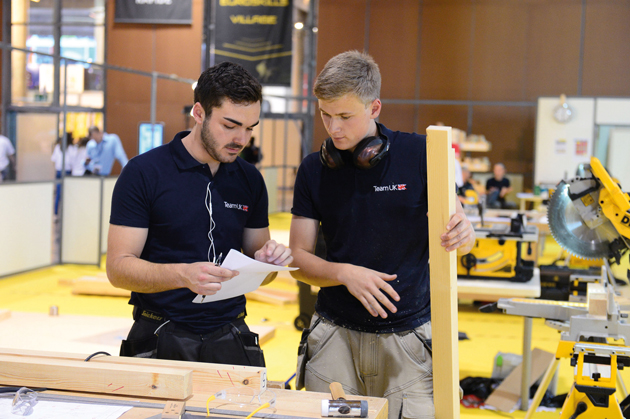Quest for EuroSkills glory under way for Team UK