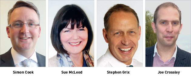Edition 114: Simon Cook, Sue Mcleod, Stephen Grix and Joe Crossley