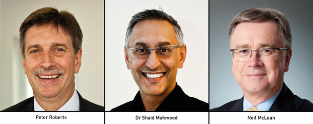 Edition 113: Peter Roberts, Dr Shaid Mahmood and Neil McLean