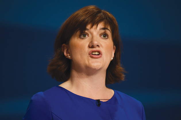 Nicky Morgan sacked as education secretary