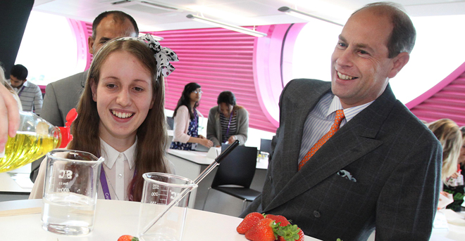 Royal seal of approval for sixth form