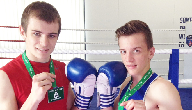 Knockout Irish success for boxing duo
