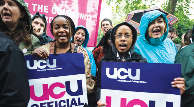 More than 200 colleges expected to be hit by UCU strike action