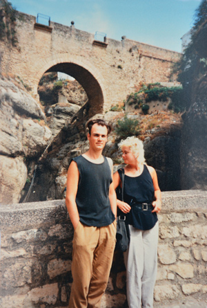 Westerman-with-now-husband-Mark-in-Ronda-web