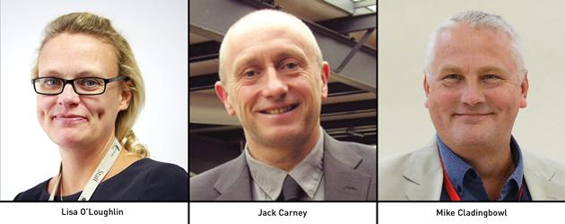 Edition 115: Lisa O'Loughlin, Jack Carney and Mike Cladingbowl