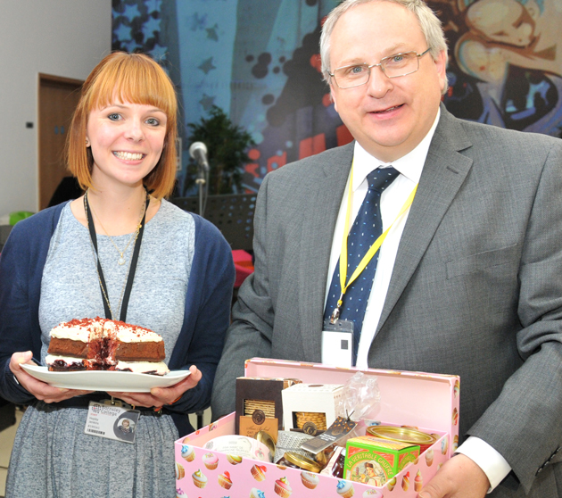 Cake baking tribute to 'wonderful colleague'
