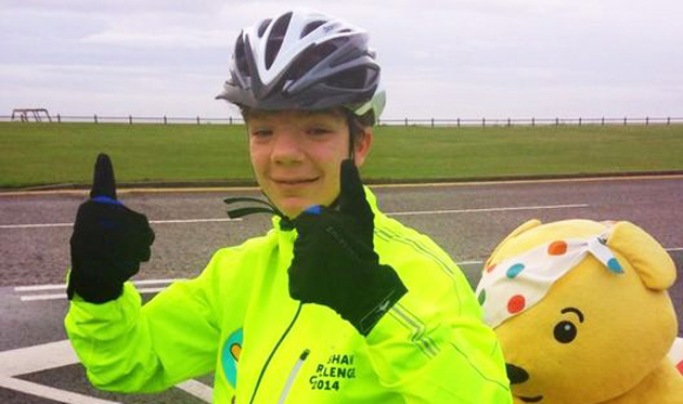 Getting on their bikes to raise £2.3m for Children in Need