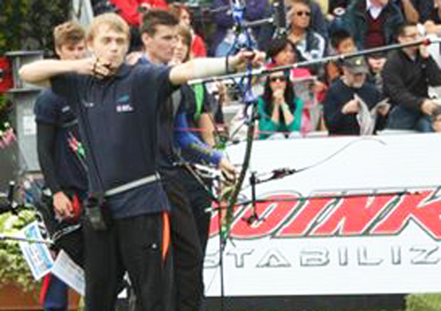 Archer Andy aims for 2020 Olympic glory