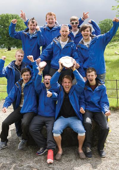 The 2013 winning team from Innovia Films