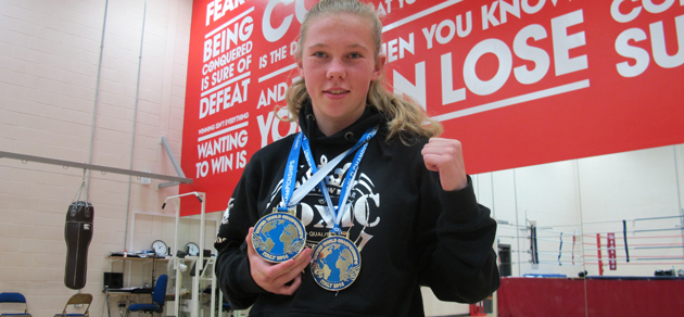 Thai boxer wins double-gold in world championship