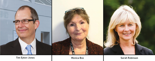 Edition 120: Tim Eyton-Jones, Monica Box and Sarah Robinson