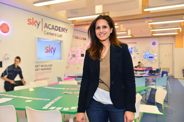Nishy Lall in the Sky Academy