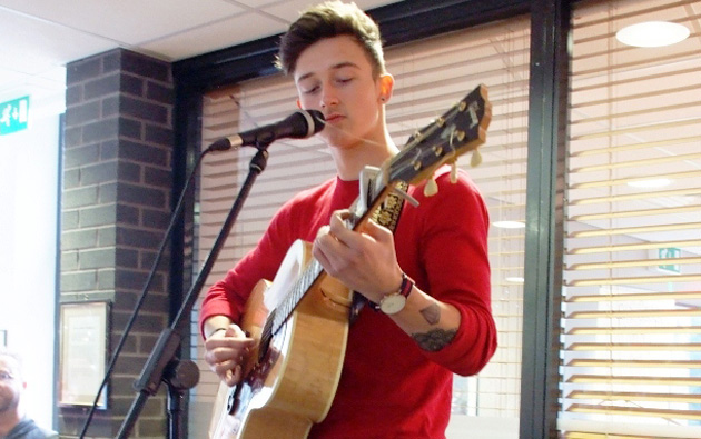 Students think singer Jack has the X Factor