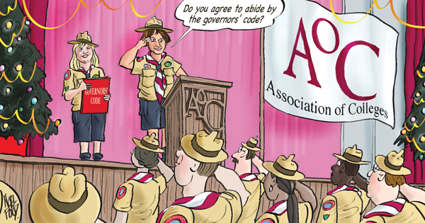 College governors get AoC code preview