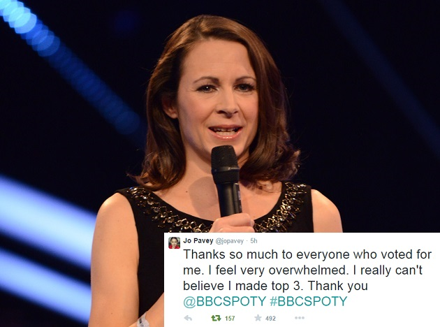 Former Exeter College learner Jo Pavey beaten to BBC Sports Personality title by Formula 1 champion Lewis Hamilton