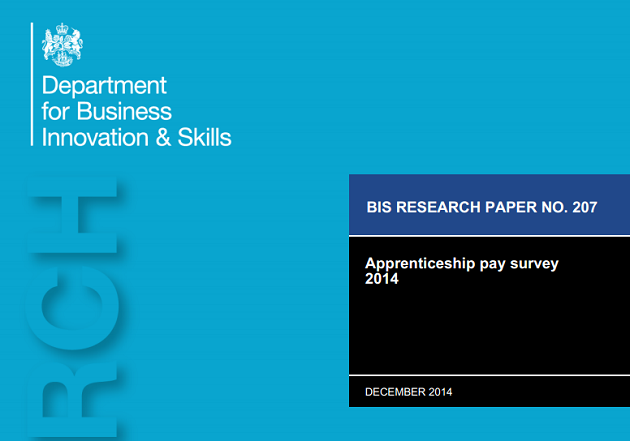 Apprenticeship pay survey report released - with reaction