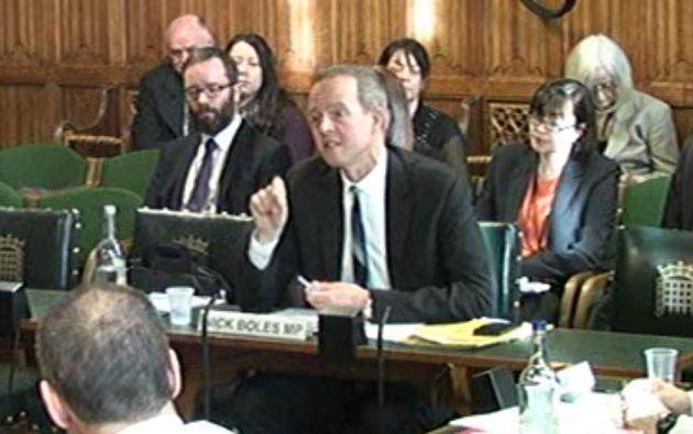 Apprenticeship reform proposals were 'half-cocked,' Skills Minister Nick Boles tells MPs
