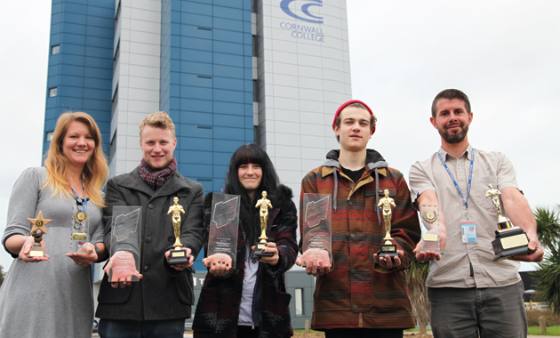 Film festival praise for Cornwall College media production learners