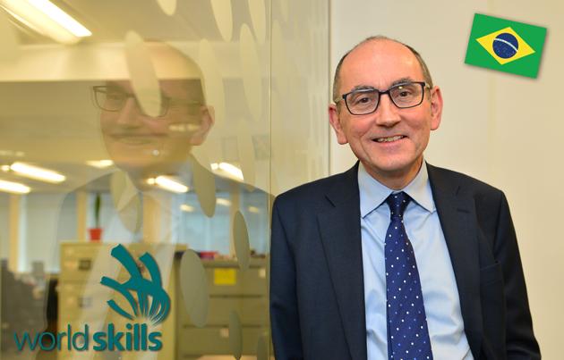 WorldSkills UK Brazil job for sector funding boss Peter
