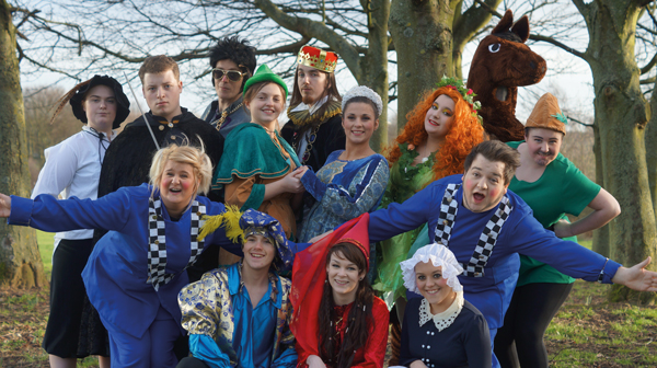 Robin Hood meets Babes in the Wood in panto crossover
