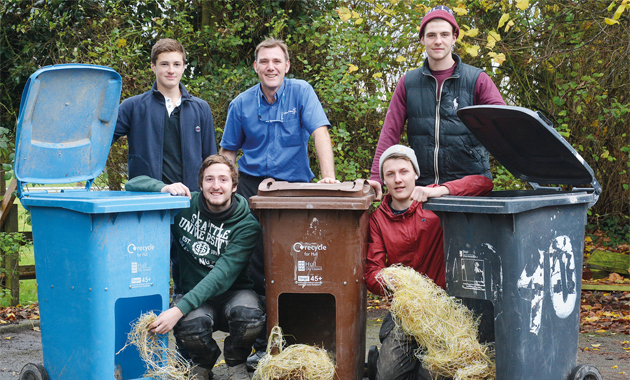Construction students help the 'neigh' bours