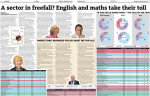 A sector in freefall? English and maths take their toll