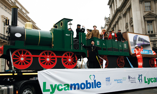 Full steam ahead for charities after mayor's £2k London float win