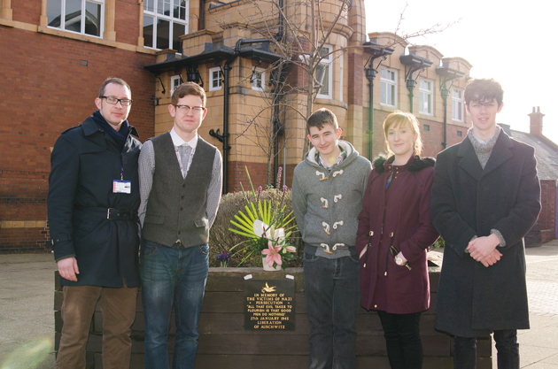 Auschwitz visit inspires learners' memorial plaque