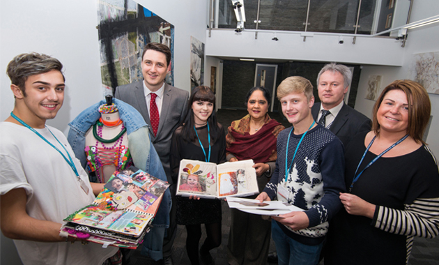 Creative designs inside and out at Notts college