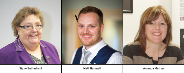 Edition 123: Signe Sutherland, Matt Hamnett and Amanda Melton