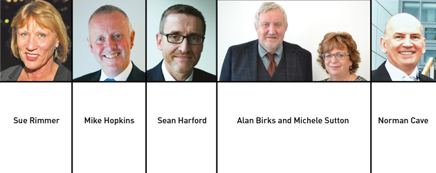 Edition 124: Sue Rimmer, Mike Hopkins, Sean Harford, Alan Birks, Michele Sutton and Norman Cave